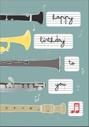 Instruments - Birthday Card Birthday