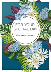 Flowers Special Day - Congratulations Card