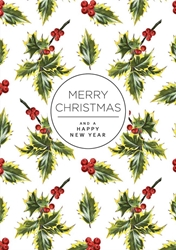 Berry Branches - Christmas Card Christmas