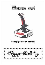 Game On - Birthday Card