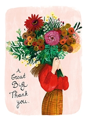 Big Bouquet - Thank You Card