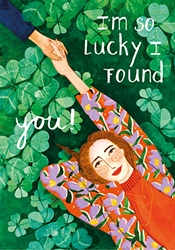 Lucky I Found You - Love Card