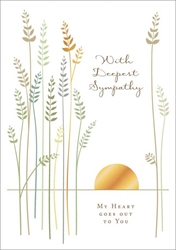 Wheat - Sympathy Card