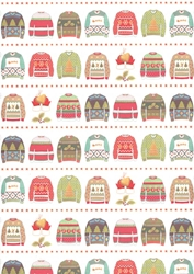 Christmas Sweaters - Sheet Gift Wrap Christmas