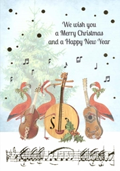 Flamingo Music - Christmas Card Christmas