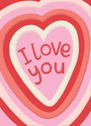 I Love You ? Love Card