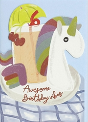 Awesome – Birthday Card