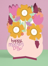 3D Vase - Mothers Day Card
