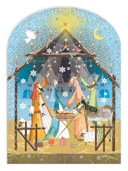 Christmas Nativity - Advent Calendar Christmas
