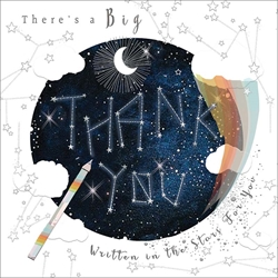 Written in the Stars - Thank You Card