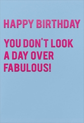 Fabulous! - Birthday Card Birthday