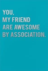 By Association - Friendship Card Friendship