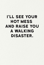 Hot Mess - Friendship Card