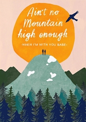 Mountain High - Love Card