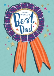Best Ribbon - Fathers Day Card