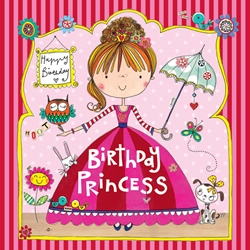 Princess Jigsaw Puzzle - Birthday Card