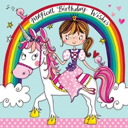 Unicorn Jigsaw Puzzle - Birthday Card