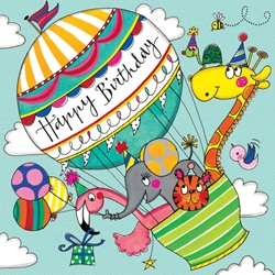 Balloon Jigsaw Puzzle - Birthday Card