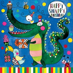 Gator Jigsaw Puzzle - Birthday Cards