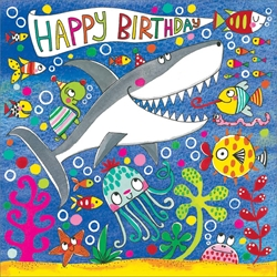 Shark Jigsaw Puzzle - Birthday Card