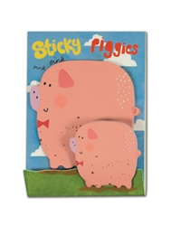 Cute Piggies - Little Pairs Sticky Notes
