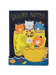 Cute Sailors - Little Pairs Sticky Notes
