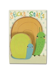 Cure Snails - Little Pairs Sticky Notes