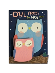 Cute Owls - Little Pairs Sticky Notes