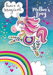 Unicorn - Mothers Day Card
