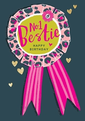 Bestie - Birthday Card