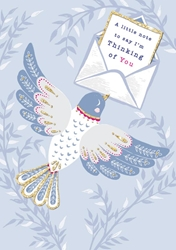 Bird Thinking of You - Friendship Card Friendship