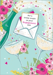Drinks - Engagement Card