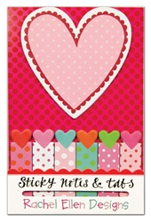 Hearts - Sticky Notes and Tabs