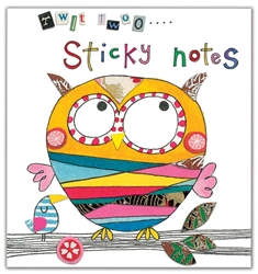 Owl - Sticky Notes Books
