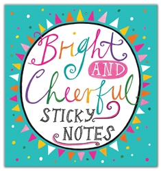 Bright and Cheerful - Sticky Notes Books