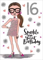 Sophia 16 - Birthday Card