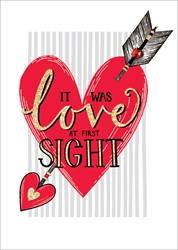 First Sight - Love Card