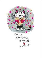 Smitten Kitten - Love Card