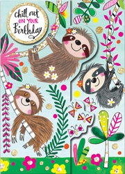 Sloths - Birthday Cards