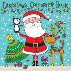 Santa & Friends Coloring Book Christmas