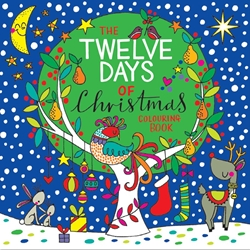 Twelve Days of Christmas Coloring Book Christmas