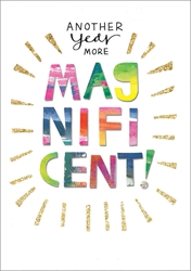 Magnificent - Birthday Card
