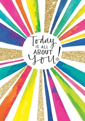 Today About You - Birthday Card
