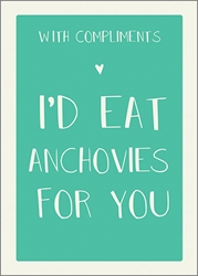 Anchovies - Friendship Card Friendship