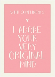 Original Mind - Friendship Card Friendship