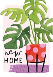 Plant - New Home Card