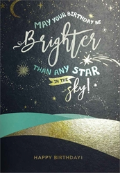 Star in the Sky - Birthday Cards