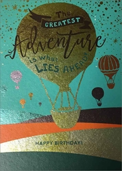 Air Balloon - Birthday Cards