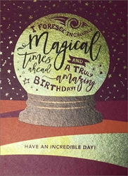 Crystal Ball - Birthday Cards