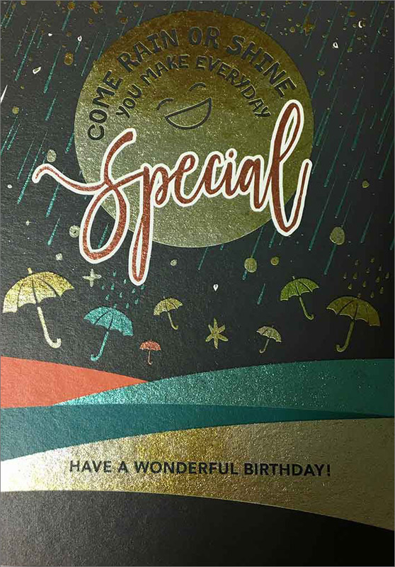 Rain / Shine - Birthday Cards